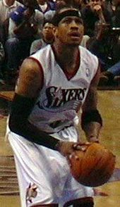 low priced 39b54 d0fb7 Allen Iverson - Wikipedia