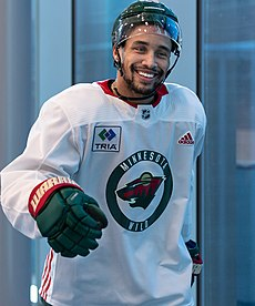 J.T. Brown at Minnesota Wild open practice at Tria Rink in St Paul, MN.jpg