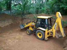 പ്രമാണം:JCB Backhoe loader operation - 2.ogv