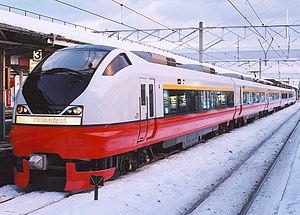 Hatsukari - E751 series EMU on a Super Hatsukari service, 2002