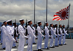 JS Kashima's guard of honour -8 Jun. 2010 c.jpg