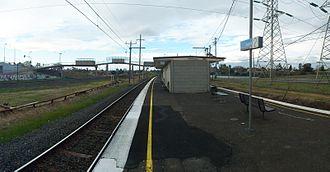 Jacana railway station - Image: Jacana railway station, Melbourne