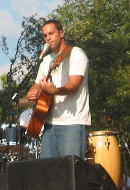 Johnson performing at the Austin City Limits Festival 2004. JackJohnson2004.jpg