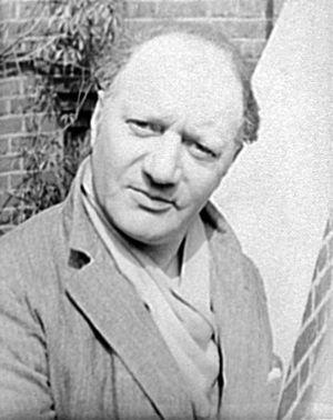 Jacob Epstein - Jacob Epstein in 1934, photograph by Carl Van Vechten