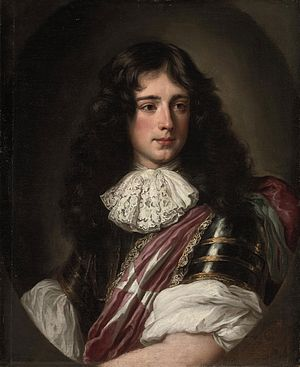 Philippe, Duke of Vendôme - Philippe de Bourbon, painting by Jacob Ferdinand Voet