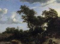Jacob van Ruisdael - Dunes with a mule driver.jpg