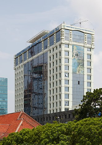 Ministry of Maritime Affairs and Fisheries (Indonesia) - Image: Jakarta Indonesia Marine and Fishery Ministry 01