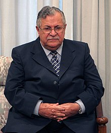 Jalal Talabani meet with Ali Khamenei - November 22, 2005 (007).jpg
