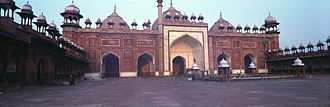 1640s in architecture - Jama Masjid, Agra