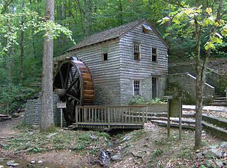 Norris Dam State Park - Rice Gristmill