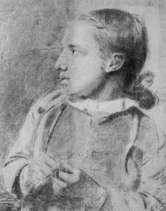 James Stuart (1713–1788) - James Stuart as a child, self-portrait