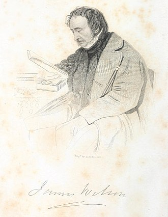 James Wilson (zoologist) - Portrait from his 1859 biography