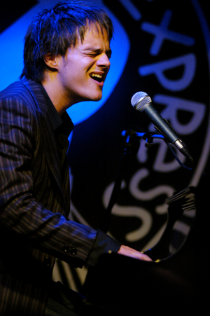 PizzaExpress - Jamie Cullum playing live at PizzaExpress Jazz Club, 10 Dean Street, Soho, London