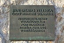 Jan Dismas Zelenka - memorial plaque LPB.jpg