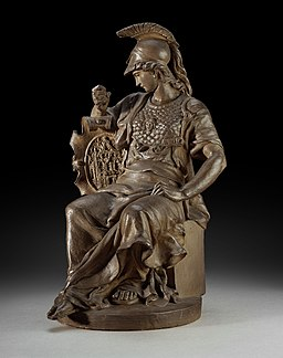 Jan Frans Deckers, Gehelmde Minerva- Minerve casquée, KBS-FRB