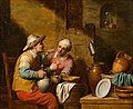 Jan Jozef Verhaghen - Drinkers in a tavern.jpg