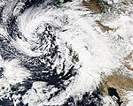 January 2010 California El Nino Superstorm 4 out of 5, on Wednesday, January 20.jpg