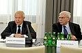 Janusz Onyszkiewicz Adam Rotfeld Konferencja 15 Polski w NATO Kancelaria Senatu.JPG