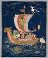 Japan, late 19th-early 20th century - Embroidered Fukusa - 1916.1321 - Cleveland Museum of Art.tif