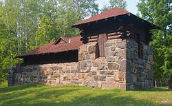 Jay Cooke State Park water tower.JPG