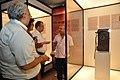 Jayanta Sengupta Visits With Shrikant Pathak And Manash Bagchi - Objects In CRTL Archive Exhibition - NCSM - Kolkata 2018-05-18 0675.JPG