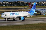 Jazeera Airways, 9K-CAP, Airbus A320-214 (45247571222).jpg