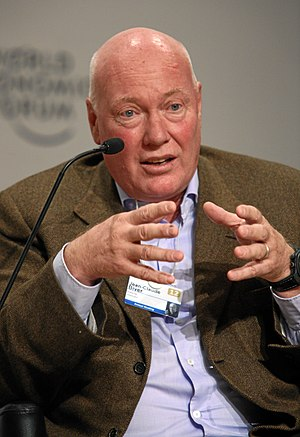 Jean-Claude Biver - Biver at the World Economic Forum annual meeting in 2012