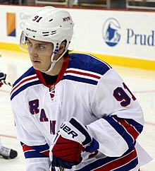 Description de l'image Jesper Fast - New York Rangers.jpg.