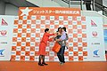 Jetstar Japan First Flight - Meeting Passengers (7491366850).jpg