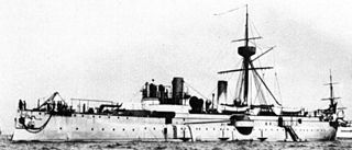 Chinese cruiser <i>Jingyuan</i> (1887) armored cruiser in the late Qing dynasty Beiyang Fleet