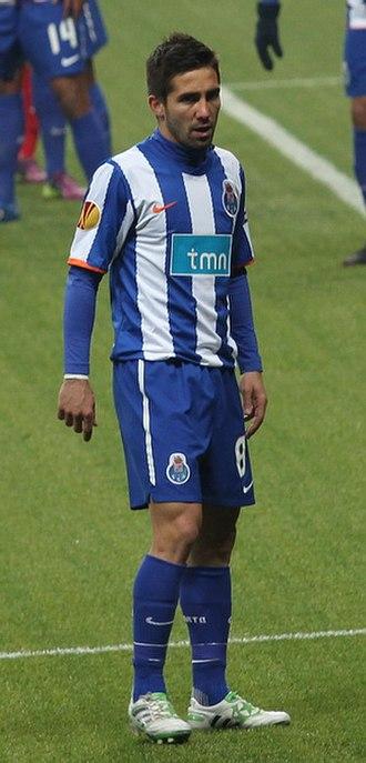 João Moutinho - Moutinho playing for Porto in 2011