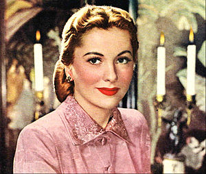 The Affairs of Susan - Joan Fontaine in The Affairs of Susan