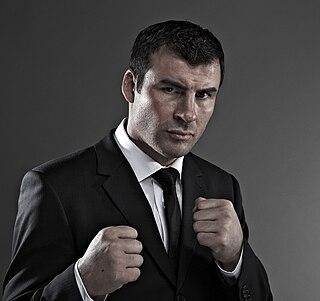 Joe Calzaghe Welsh boxer