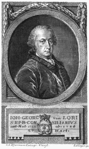 Johann Georg von Lori