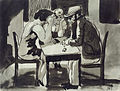Johann Robert Schürch Mann mit zwei Frauen am Tisch.jpg
