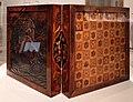 Johann nicolaus haberstumpf (attr.), tavola per scacchi e backgammon, eger (boemia) 1700 ca. 02.jpg