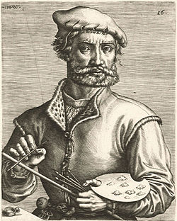 Johannes Wierix (Attr.) – Portrait of Pieter Coecke van Aelst.jpg
