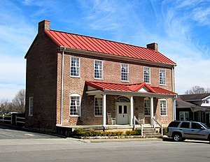 Pikeville, Tennessee - Bridgman House, built in 1815