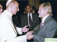 Калхун встречался с Папой Павлом VI в Риме