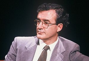 John Finnis - Appearing on television discussion programme After Dark in 1987