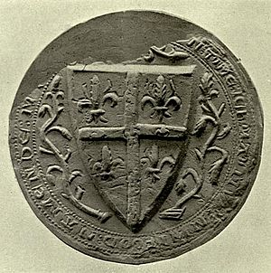John Hastings, 1st Baron Hastings - Seal of John Hastings appended to the Barons' Letter, 1301