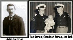 Needles, California - John Lorimer was the first mayor of Needles. John's son Robert Burns Lorimer established the first volunteer fire department.