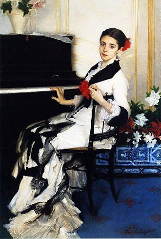 A Portrait of the Daughters of Ramón Subercaseaux - John Singer Sargent, Madame Ramon Subercaseaux