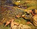 John Singer Sargent - Val d'Aosta, A Man Fishing.jpg