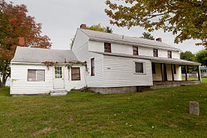 National Register of Historic Places listings in Hancock County, West Virginia - Image: Johnston Truax House 2012