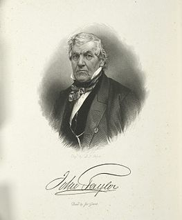 John Tayler American politician and Governor of NY
