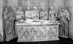 Joigny - Image: Joigny Eglise Saint Jean mise au tombeau
