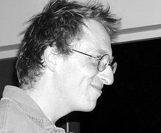 Jon Ronson - Ronson at Humber Mouth Festival, 2006