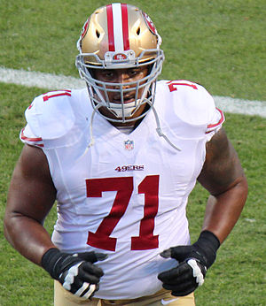 Jonathan Martin (American football) - Martin with the San Francisco 49ers in 2014