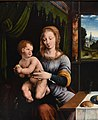 Joos van Cleve, Madonna and Child, ca. 1530, National Gallery, Oslo (2) (36298061072) (cropped).jpg